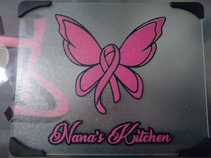 Breast cancer cutting board for Sale in Spring Hill, FL