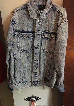 Forever 21 distressed acid washed Jean Jacket for Sale in Germantown, MD