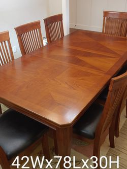 Dining Table & 8 Chairs & Matching Sideboard for Sale in Tigard,  OR