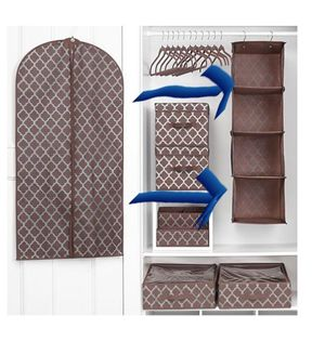 TWO 4-SHELF CLOSET HANGING ORGANIZERS for Sale in Tampa, FL