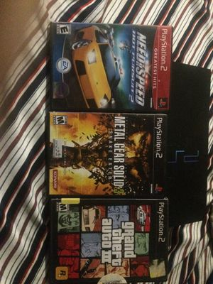 Ps2 with games for Sale in Dundalk, MD
