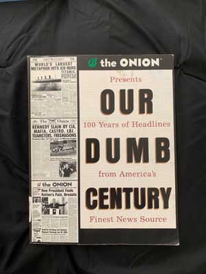 The Onion, Our Dumb Century for Sale in Tacoma, WA
