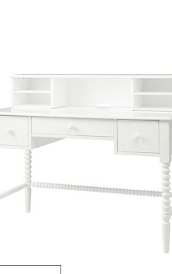 Crate And Barrel White Desk hutch - Not The Desk for Sale in University Place,  WA