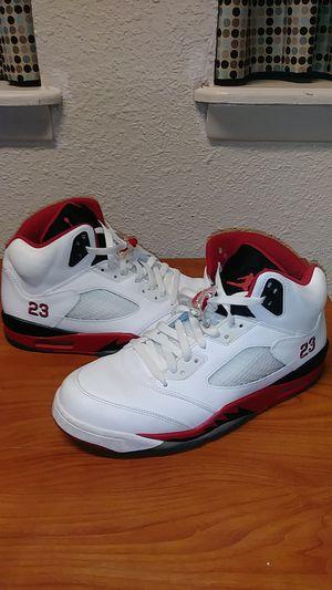 Jordan 5s fire red for Sale in Phoenix, AZ