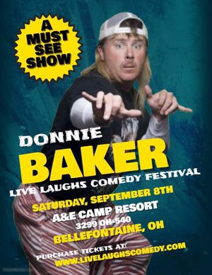 Donnie Baker comedy tickets for Sale in De Graff, OH