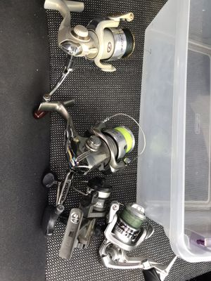 Fishing reels set of 4 for Sale in Kirkland, WA