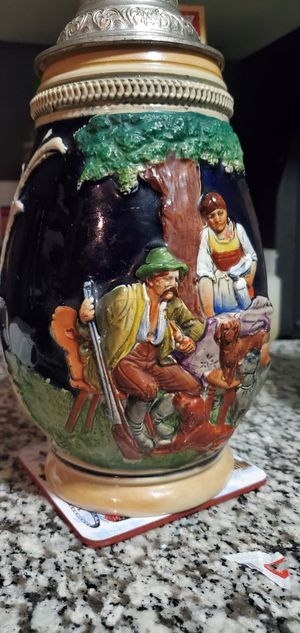 Authentic German beer kettle paint looks brand new for Sale in Jonesboro, AR