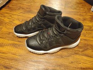 Retro Jordan Anthracite 72-10 11s - Size 7Y for Sale in Raleigh, NC