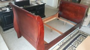 Twin Sleigh Bed Frame for Sale in Corona, CA