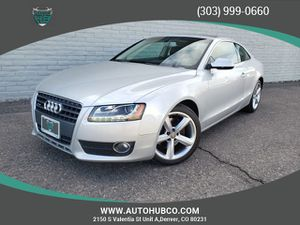 2010 Audi A5 for Sale in Denver, CO