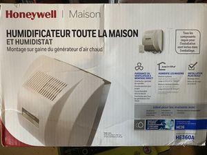 Honeywell 18 GPD 4500 Sq. Ft. Whole House Humidifier Model Number: HE360A1075U Menards® SKU: 6399988 for Sale in Marietta, GA