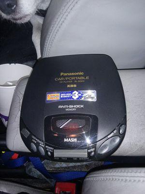 Panasonic car/portable discman for Sale in Seattle, WA