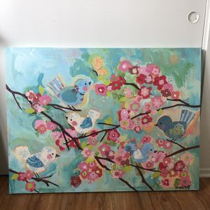 Bird Painting for Sale in La Mirada, CA