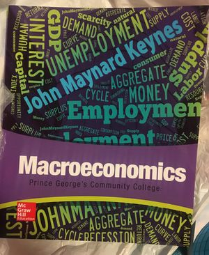 Macroeconomics for Sale in Washington, DC