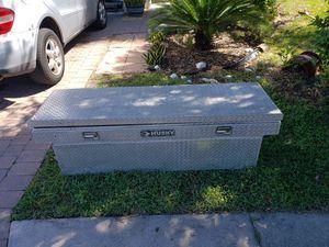 Used Deep Diamond Plate Truck Tool Box for Sale in Bradenton, FL