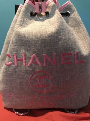 Chanel Backpack book bag tote for Sale in Washington, DC
