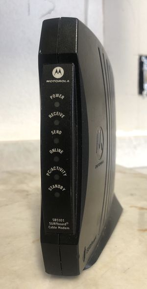 Motorola SURFboard SB5101 DOCSIS 2.0 Cable Modem for Sale in Plano, TX