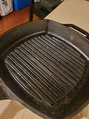 Lodge cast iron grilling pan 10 for Sale in Washington, DC