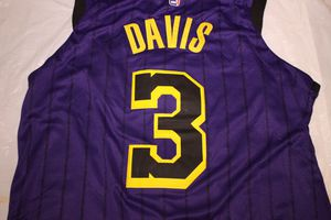 ANTHONY DAVIS BRAND NEW STICHED PURPLE LAKERS JERSEY for Sale in Fullerton, CA