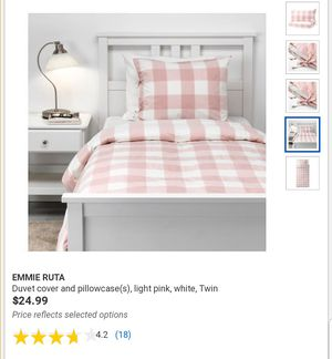 FULL/QUEEN IKEA Emmie Ruta Duvet Cover & 2 Pillow Cases for Sale in Los Angeles, CA