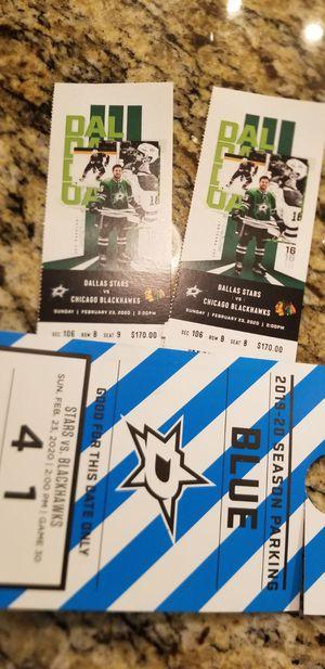 Dallas stars tickets for Sale in Frisco, TX