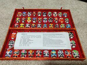 Vintage Beijing Mini Opera Masks for Sale in Bristow, VA