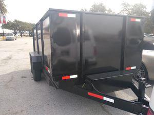 Dump trailer 7x14x4 for Sale in Dallas, TX
