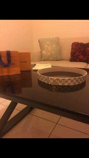 Louis Vuitton Damier belt for Sale in Tampa, FL