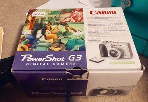 Brand New Canon Power Shot G3 Digital Camera for Sale in Ellettsville, IN