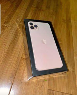 Iphone 11 pro max factory unblocked for Sale in The Bronx, NY