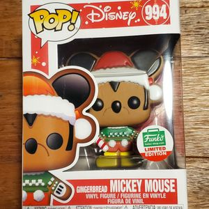 Gingerbread Mickey Mouse Limited Edition Funko Pop for Sale in Aurora, CO