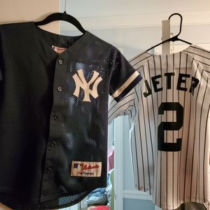 Boys JETER jerseys (small and 10/12) for Sale in Bloomingdale, NJ