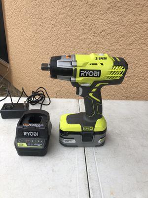 "Ryobi 18volts 3 speed 1/2 "" Impact Drill New $150 for Sale in Carrollton, TX"