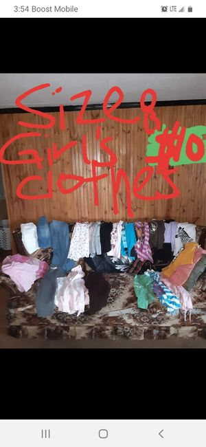 Girls size 8 clothes good condition for Sale in Saint Thomas, PA