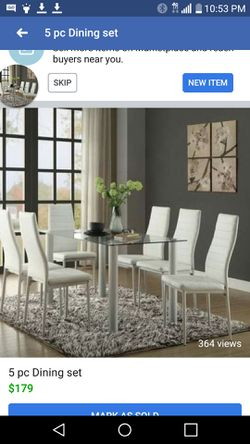 6 PCS DINING SET SALE for Sale in Kissimmee,  FL