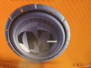 Car subwoofer : Memphis 12 inch 600 watts dual voice coil car. Subwoofer for Sale in Santa Ana, CA