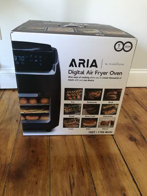 Brand New Aria Digital Air Fryer Oven for Sale in Saco, ME