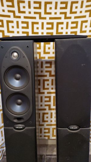 Polk Audio Tower Speakers for Sale in Franklin Park, IL