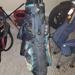Golf Clubs With Tons Of Balls And Socks for Sale in Orange Park, FL