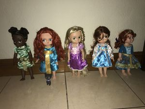 Disney Animators Collection Dolls 16' inch for Sale in Miami Springs, FL