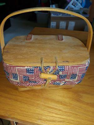 Longaberger flag basket for Sale in Street, MD