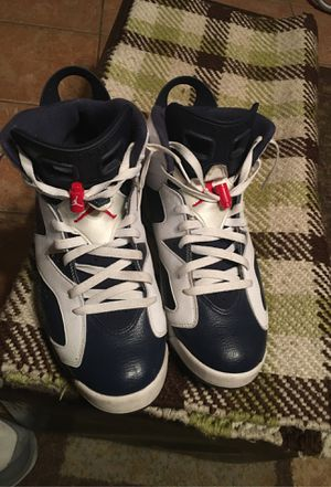 Jordan retro 6 OLYMPIC (size) 11.5 for Sale in Hutto, TX