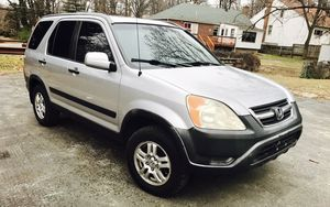 2002 Honda CR-V / 4WD / Navigation/ Super Clean/ Great for a family for Sale in Rockville, MD