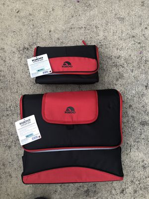 NEW matching 2 IGLOO cooler bags for Sale in Woodlawn, MD