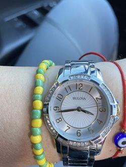Womens Bulova Watch With Box & Links for Sale in Hialeah,  FL
