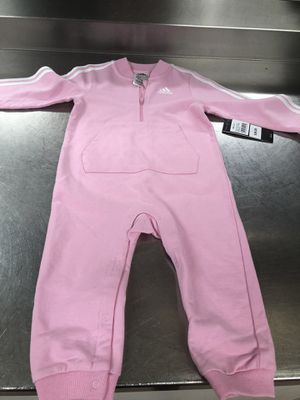36.00 NEW PINK ADIDAS OUTFIT SIZE-24 M 2 years for Sale in Jessup, MD