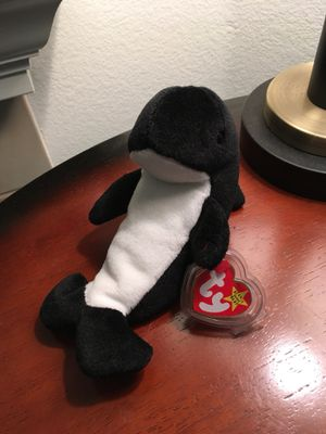 0a35104c911 Waves the whale beanie baby for Sale in El Dorado Hills