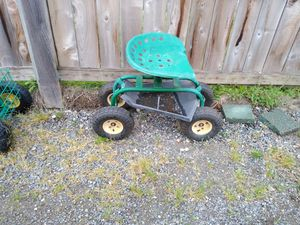 Tractor seat garden cart for Sale in Tacoma, WA