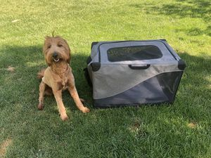 Dog crate packable and soft for Sale in Pleasant Grove, UT