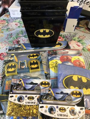 Batman party decoration for Sale in Pomona, CA